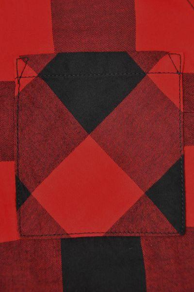 H&M Koszula Czerwono-Czarna Krata Oversize - 38 / M zdjęcie 4