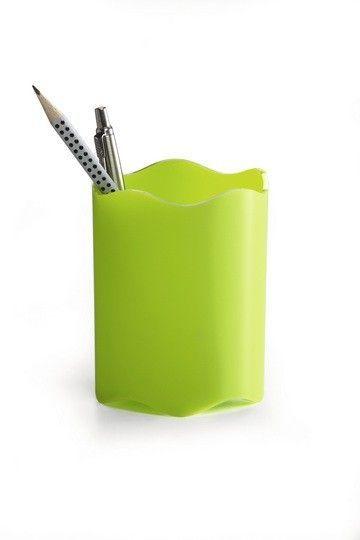 Pojemnik na długopisy zielony Trend Durable zdjęcie 1