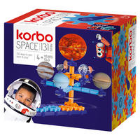 KORBO KLOCKI KONSTRUKCYJNE Space 131 el.