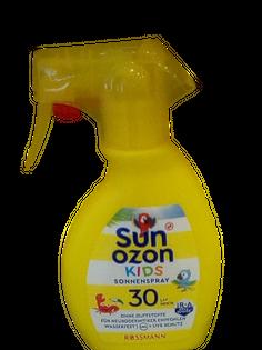 Sun Ozon Kids spray ochronny filtr 30