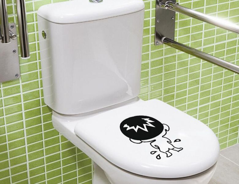 Naklejki Do łazienki Wc Toalety Na Sedes Deskę Ws 0183
