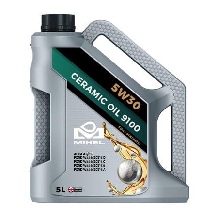 MIHEL Ceramic Oil 9100 5W30 Olej ceramiczny 5L na Arena.pl
