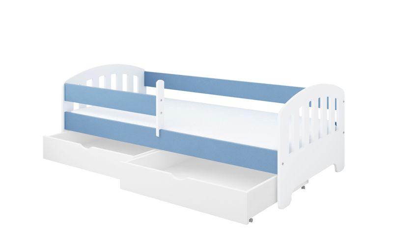 Łóżko CLASSIC 180 x 80 + DWIE SZUFLADY + MATERAC PIANKOWY GRATIS na Arena.pl
