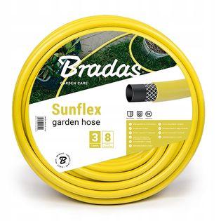 """Wąż Ogrodowy SUNFLEX 1/2"""" 20m Bradas WMS1/220"""