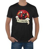 Koszulka Deadpool I'M UNICORN śmieszne koszulki XL