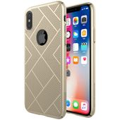 Etui Nillkin Air Case do Apple iPhone X / Xs złoty