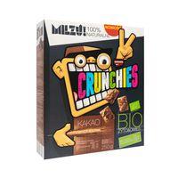 Milzu Płatki Crunchies żytnio-owsiane kakaowe BIO 250 g