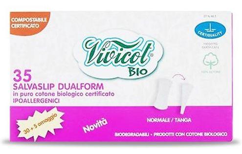 Vivicot Bio Wkładki Higieniczne Dualform 35 Szt.