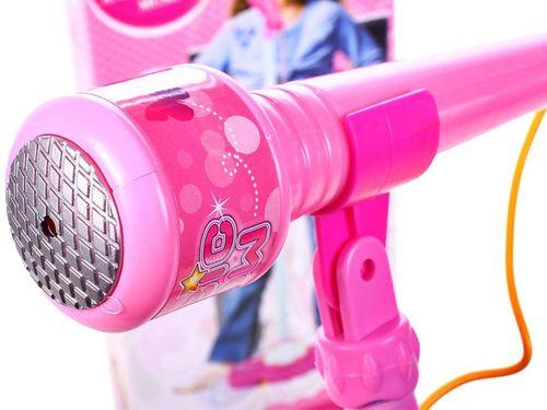 Mikrofon Karaoke ze Statywem Melodie MP3 Głośnik Y151 na Arena.pl