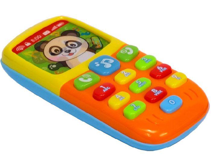 Kolorowy TELEFONIK Dla Maluszka Dźwięki Światła zdjęcie 4