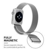 Crong Milano Steel - Pasek ze stali nierdzewnej do Apple Watch 42/44 mm (złoty)