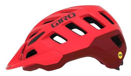Kask mtb GIRO RADIX matte bright red dark red roz. S (51-55 cm) (NEW)