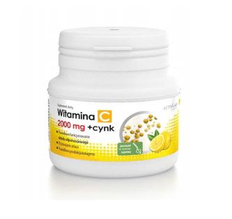 Witamina C 2000mg w proszku + Cynk 150 g