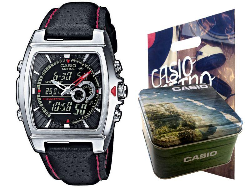 Zegarek Casio EFA-120L-1A1 Termometr, LED, 10BAR zdjęcie 1