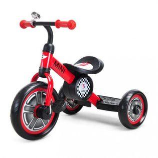 Rowerek trójkołowy MINI - czerwony