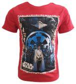 T-Shirt Star Wars Red 6Y r116 Licencja Disney LucasFilm (QE1592) zdjęcie 1