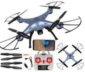 Dron Syma X5HW kamera Wi-Fi funkcja zawisu Niebieski Y142N zdjęcie 12