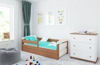 Łóżko KASIA 160x80 z szufladą + GRATIS : Barierka ochronna i Materac