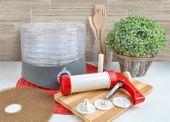 Suszarka do grzybów, owoców i warzyw z akcesoriami zdjęcie 24