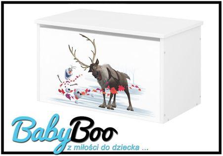 POJEMNIK NA ZABAWKI Skrzynia Baby Boo DISNEY, MICKEY, FROZEN II