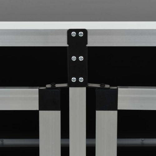 Klatka dla psa z podwójnymi drzwiami, 89 x 69 x 50 cm GXP-679879 na Arena.pl
