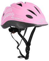 Kask dziecięcy rowerowy na rolki/deskorolkę Nils Extreme MTV65 różowy rozmiar S (53-55 cm)