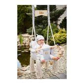 Huśtawka dla dzieci VelvetSwing – Grey zdjęcie 8