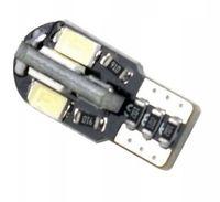 Żarówka LED R-10 W5W 12V CANBUS 8SMD 5630 EINPARTS / EPL69