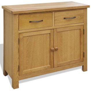 Szafka 90 x 33,5 x 83 cm, drewno dębowe