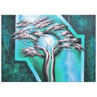 OBRAZ DRUKOWANY  Drzewo o północy 70x50