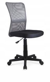 Fotel do biurka DINGO młodzieżowy CZARNY obrotowy