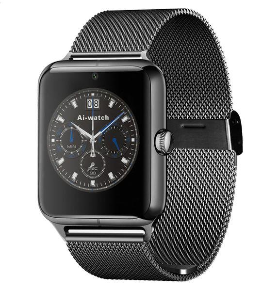 CZARNY smartwatch J50 zegarek telefon aparat microsd sim bransoleta zdjęcie 1