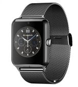 CZARNY smartwatch J50 zegarek telefon aparat microsd sim bransoleta