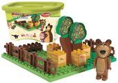 PlayBIG Klocki Masza i Niedźwiedź Ogród Miszy