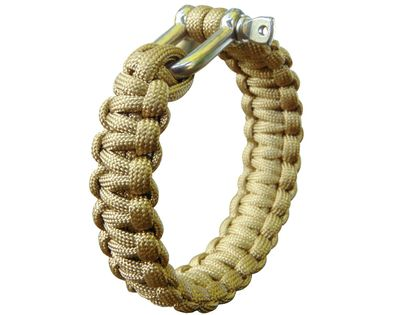 BRANSOLETKA LINA PARACORD  23mm COYOTE  MFH