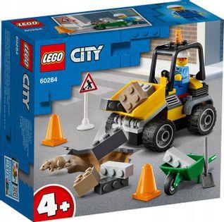 LEGO CITY Pojazd do robót drogowych 60284