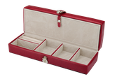 Kuferek na biżuterię elegancki organizer