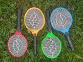 Elektryczna łapka na muchy, rakietka na owady, packa 230V zdjęcie 2