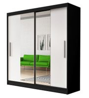 Szafa przesuwna VISTA 01 150 z lustrem + półki