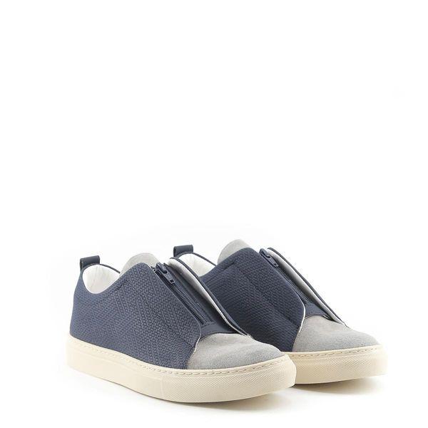 Made in Italia sportowe buty męskie sneakersy niebieski 45 zdjęcie 14
