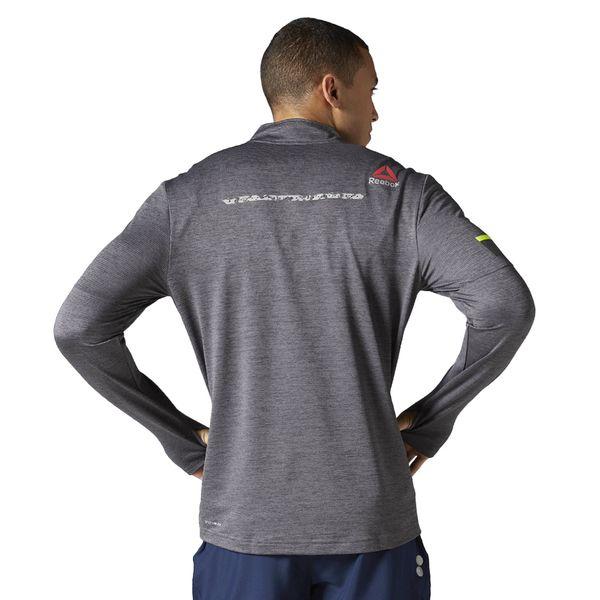8c3774d052af30 Koszulka z długim rękawem Reebok One Series Run 1/2 Zip męska sportowa  termoaktywna 2XL