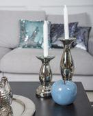 Klasyczny świecznik wysokość 20 cm zdjęcie 3
