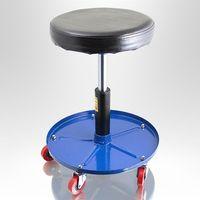 15732 Stołek hoker obrotowy z regulacją wysokości do warsztatu pneumat