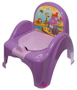 TEGA SF-010-128 Nocnik krzesełko SAFARI c.fiolet