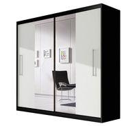 Szafa przesuwna RICO 204 z lustrem + półki