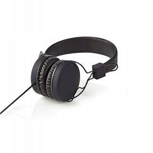 Słuchawki przewodowe Nauszne Składane Nedis