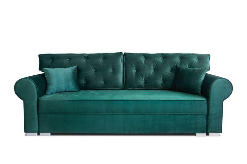 Sofa Kanapa 250cm Beżowa MONIKA PIK  różne kolory obić NC zdjęcie 4