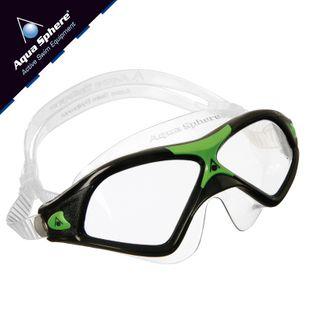 Gogle pływackie SEAL XP 2 Kolor - Aqua Sphere - Seal XP 2 - MS163114 - czarny / zielony / jasne szkła
