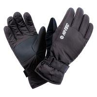 Damskie rękawice narciarskie Hi-Tec Lady Marys snowboardowe zimowe czarne rozmiar L/XL