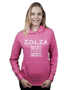Bluza damska kangur ZOŁZA CECHY XL